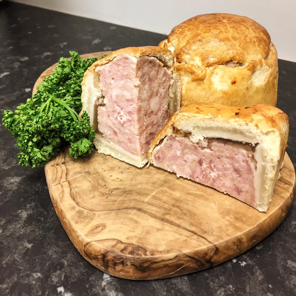 Homemade gourmet artisan pork pies Midhurst South Downs